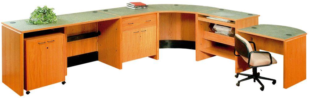 back - Library Circulation Desk Design
